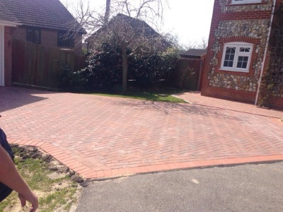 Driveway Paving Installation in Luton
